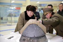 A failed missile launch by North Korea on Friday, international experts say, is an embarrassing setback for its leader Kim Jong Un. File Photo: Reuters