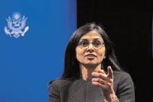 Nisha Desai Biswal, US assistant secretary of state. Photo: Reuters