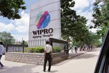 Intraday, the stock touched a low of <span class='WebRupee'>Rs.</span>556.55 apiece, a level last seen on 11 April, falling as much as 7.45%, the most since 25 July 2014. So far this year, the Wipro stock fell 0.11%. Photo: Hemant Mishra/Mint