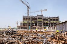 Reasons for residential real estate buyers being cautious include the increasing delays in existing under-construction projects, quality issues, and higher price points. Photo: Ramesh Pathania/Mint