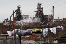 A file photo of Tata Steel steel plant at Port Talbot, South Wales. Photo: AFP