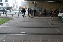 The German city of Augsburg has installed traffic lights on pavements and sidewalks, which look up at pedestrians. Photo: Courtesy Stadt Augsburg/City of Augsburg