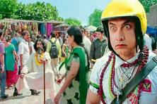 The Hindi film 'PK' takes a stab at the 'dhongi baba'.