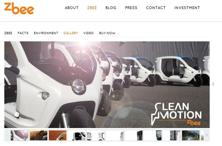 A screen grab of Clean Motion website.