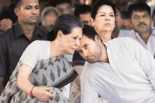 A file photo of Congress chief Sonia Gandhi and vice president Rahul Gandhi. Photo: Reuters