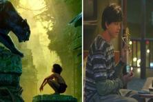 Film stills of 'The Jungle Book' (left) and 'Fan'. At net box office collections of Rs164.08 crore currently, the former is eyeing Rs175 crore in a country where the Rs100 crore mark is still a milestone for a Hollywood movie.