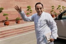 A file photo of Subramanian Swamy. Photo: PTI