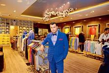 Ashish N. Soni at his new concept store in Defence Colony. Photo: Pradeep Gaur/Mint