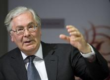 Mervyn King, ex-governor of the Bank of England. Photo: AFP