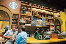 Staff at Tata Starbucks outlets will now have five-day work weeks. Photo: Abhijit Bhatlekar/Mint
