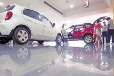 In the year ended 31 March, sales of utility vehicles increased 6.25% to a record 586,000.  Photo: Ramesh Pathania/Mint