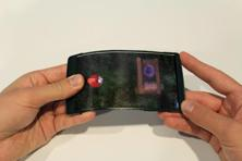 Holoflex allows for glasses-free interactions with 3D video and images in a way that does not encumber the user.