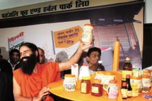 A file photo of Baba Ramdev. Photo: Hindustan Times