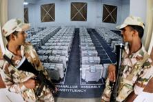 A file photo of EVMs in Tamil Nadu. Photo: AP