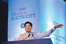 Union power minister Piyush Goyal said he will speak to state power ministers on how they could help stalled hydro power projects revive. Photo: Pradeep Gaur/ Mint