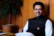 File photo. Once Anurag Thakur is elected unopposed, it would be his prerogative to pick his replacement for the secretary's position and Maharashtra Cricket Association chief and business magnate Shirke is all set to take that position. Photo: Pradeep Gaur/Mint