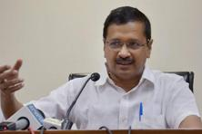 File photo. Arvind Kejriwal has called the discoms for a meeting on Tuesday. Photo: PTI
