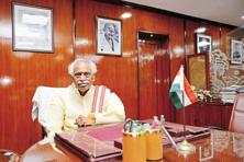 Labour minister Bandaru Dattatreya says the objective of labour reforms for his ministry is to achieve social security, jobs and reasonable wages. Photo: Priyanka Parashar/Mint