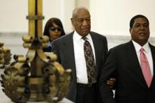 Bill Cosby departs the Montgomery County Courthouse after a preliminary hearing in Norristown, Pennsylvania. Matt Rourke/Reuters