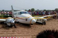 The plane was on its way from Patna to Delhi airport and was short by six nautical miles.  Photo: PTI