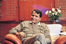 Rail minister Suresh Prabhu says the cabinet has approved Rs10,736 crore worth of investments by the railways to expand its network. Photo: Mint