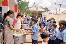 At Akshaya Patra, the non-profit that provides mid-day meals to schoolkids, there are five members to monitor social media and 15 more to manage digital marketing strategies. Photo: Hemant Mishra/Mint