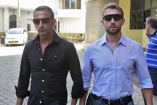 A file photo of Italian marines Salvatore Girone (right) and Massimiliano Latorre. Photo: Reuters