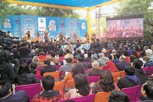 A file photo from the Jaipur Literature Festival. Photo: Priyanka Parashar/Mint