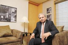 Tech Mahindra MD and CEO C.P. Gurnani says the acquisition will make the company a formidable player in the UK banking, financial services and insurance market. Photo: Hemant Mishra/Mint