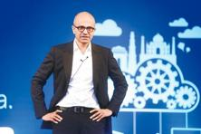 When Satya Nadella was down in India last November, he indicated that he wants Microsoft to help companies reinvent their productivity and business processes. Photo: Ramesh Pathania/Mint