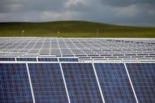 Electricity from solar energy is getting a boost as the price of solar power has declined. Photo: Reuters