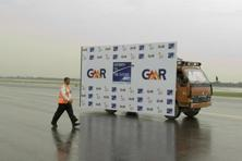 GMR Infrastructure's shares fell as much as 5.3% on Tuesday. Mint
