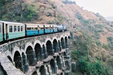 Now, people travelling on the Kalka-Shimla narrow gauge route can book a rail car for Rs36,000 or an exclusive 'Jharokha' coach that can seat eight people for Rs29,000, for a return journey. Photo: Wikimedia Commons