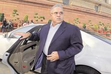 "A file photo of Vijay Mallya an interview to 'Financial Times' on 29 April, Mallya said he was in ""forced exile"" and that reporting by the Indian media had moulded public opinion against him. Photo: Hindustan Times"