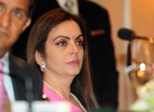 A file photo of Reliance Foundation chairperson Nita Ambani. Photo: Indranil Bhoumik/Mint