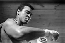 Muhammad Ali at a training session. Photo: Robert Walker/The New York Times