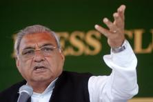 Bhupinder Singh Hooda's political fortunes came under a cloud when the Congress performed poorly in the Lok Sabha elections in 2014, losing all seats in Haryana. Photo: Mint