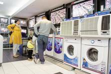 Air conditioners and refrigerators drove sales at consumer durables chains in the months of April and May. Photo: Mint