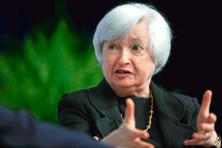 A file photo of Janet Yellen, chair of the US Federal Reserve. Photo: Bloomberg