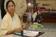 A file photo of West Bengal chief minister Mamata Banerjee. Photo: Mint