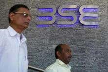 The S&P BSE Sensex climbed 0.91%, or 241.01 points, to 26,866.92 at the close in Mumbai, erasing an intraday drop of 0.7%. Photo: Reuters
