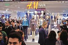 Globally, H&M had 3,970 stores as of 29 February and plans to open 425 more by November. Photo: Pradeep Gaur/ Mint