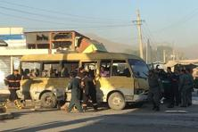 A busload of Nepali security guards were among 23 people killed in a string of bombings across Afghanistan on Monday. Photo: Mirwais Harooni/Reuters