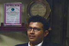 The lawyer who belongs to Uttar Pradesh completed his law studies from Chaudhary Charan Singh University in Greater Noida. He is now practising law for two years.  Photo courtesy: @IPPatel/Twitter