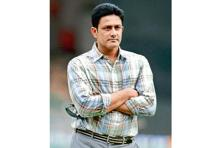 Anil Kumble's candidature became known last week. Photo: Hindustan Times
