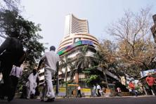 The bank stock indices on both BSE and NSE have gained more than 1% over the last one month. Photo: Mint