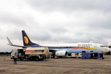 When the government allowed foreign airline investment in 2012, Etihad was the first airline to buy a 24% stake in Jet Airways. Photo: Ramesh Pathania/Mint