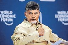 Chandrababu Naidu has been clever with his choice of location. To minimize risk, the 'capital region' is strategically located between two major urban agglomerations—Vijaywada and Guntur. Photo: Reuters