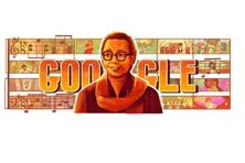 Google has a doodle commemorating R.D. Burman's 77th birth anniversary.