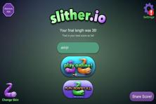 'Slither.io' is a free to download game with modern graphics.